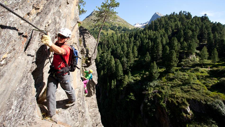 Klettersteig Urlaub : Klettersteige ferienwohnungen niederthai haus lärchenwald